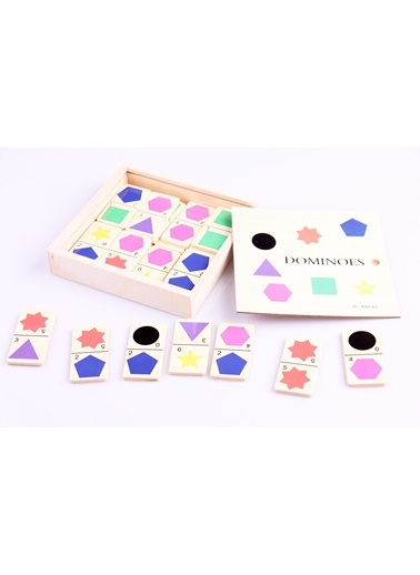 Ahşap Domino Seti-Learning Toys